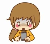 無料の出会いアプリで青ざめる女性